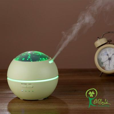 Máy xông tinh dầu phun sương hoạt động dựa trên nguyên lý khuếch tán tinh dầu