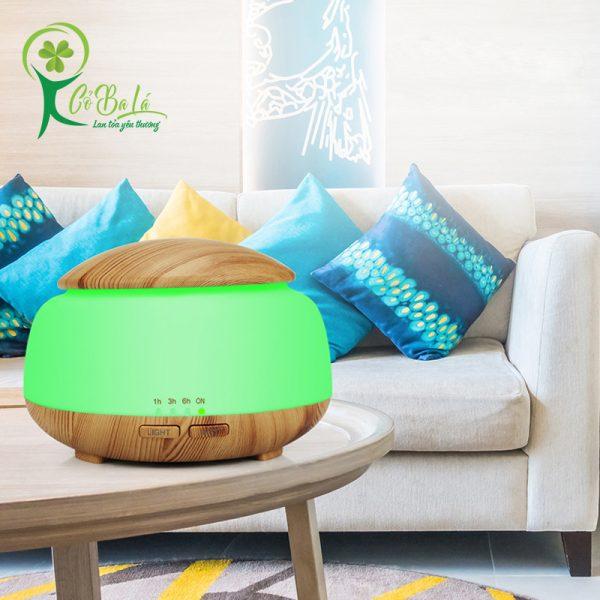 Máy Nấm bầu có kiểu dáng sang trọng và tinh tế, phù hợp với nhiều không gian phòng khác nhau.