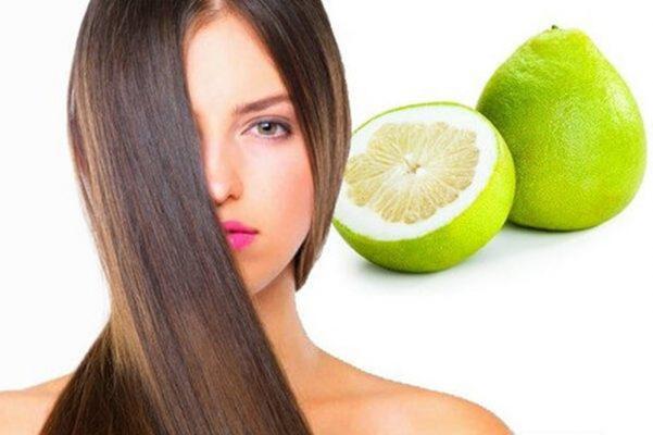 Tinh dầu vỏ bưởi tốt cho tóc